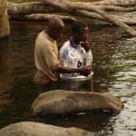 Pastor Felix Baptizes Emmanuel[?]